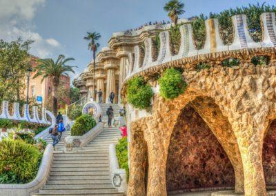 Gaudího park Guell 2