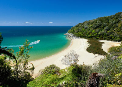 New Zealand, South Island, Abel Tasman National Park.
