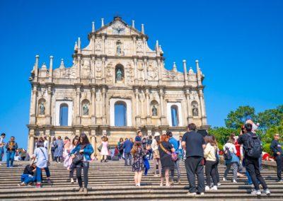 Macau Chrám Sv. Pavla