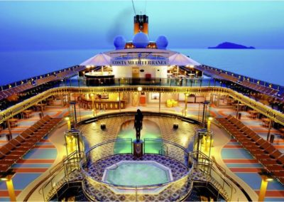 Loď Costa Mediterranea 1