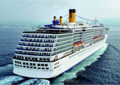 Loď Costa Mediterranea 3