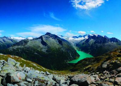 Schlegeisspeicher Zillertaler Alpen